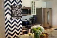 kitchen organization && decor