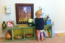 Playroom Ideas / by Montessori Nature