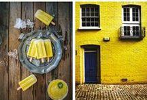 Yellow / barva optimistická, šťastná, stimuluje aktivity