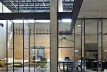 Industri / Industriální styl - loft, bydlení v továrních halách