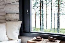 Skandinávský / typické pro severské země, převažují světlé barvy.