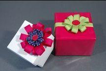 les noeuds / Comment faire de jolis noeuds pour bien finir un paquet cadeau #noeud #paquetcadeau  #DIY #emballagecadeau