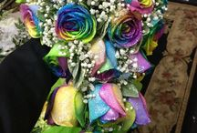 Flowers!! / Here is a variety of beautiful bridal bouquets, centerpieces & accent flowers.