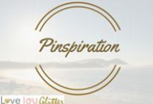 PINspiration / amazing DIY, crafts, things I love - anything to give you some PINspiration!