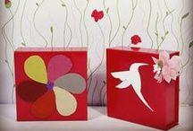 Un florilège de couleurs / #emballage #packaging #deco #couleurs #ecommerce