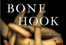 "Bone Hook, Lei Crime #10 / Maui's ocean is beautiful, wild… and deadly. Sergeant Lei Texeira gets into hot water much deeper than she's used to at a crime scene ninety feet down off of the tiny atoll of Molokini, where the death of beautiful marine biologist Danielle ""Lani"" Phillips is anything but an accident. More suspects than a school of sharks circle a case that takes Lei into territory that hits dangerously close to home as husband Michael Stevens heads into his own uncharted depths."