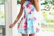 *Sukienki* / Fajne pomysły na stylizacje