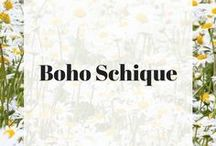 Boho Schique / What's your Schique? Boho Schique are the dreamers, the free-spirited, and the adventurous.