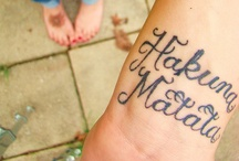 Tattoos! / by Kristen Olijnyk