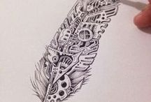 Tattoos / some ideas if i decide to get a tattoo / by Ari Dinosaur