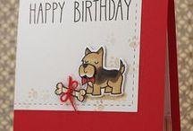 Papercraft: Dog cards