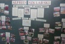 Ścienne gazetki biblioteczne (wall papers) / Zdjęcia gazetk szkolnych na różne okazje (Photos Newsletter school for various occasions)