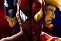 Superheros / by Lászlóné Kovács