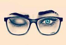 LENTES - GLASSES / Diferentes marcas, modelos y formas de Lentes - Gafas - Glasses - shades - MODA - FASHION  / by Roxibel Medero