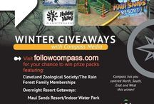 Winter giveaway's at Compass Media / Trips