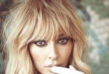 Hair / #hair #blonde #bangs