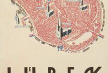 Vintage and retro maps