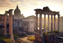 All Roads lead to Rome / Follow us down the ancient streets of Rome where triumphant generals paraded and emperors were crowned.