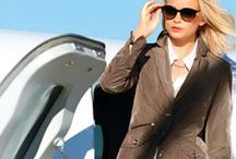 Well-heeled Traveller / Elegance whilst en route — How to be classic, look polished, and feel comfortable when flying . . .