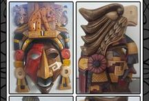 Year 3 Mayan Masks DT topic