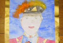 J4W 'Royal Tudor' self-portraits (2015-16) / 'Royal Tudor' self-portraits inspired by artist Hans Holbein the younger