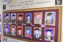 J4H 'Royal Tudor' Self portraits (2015-16) / Royal Tudor self-portraits inspired by Hans Holbein