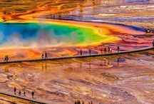Yellowstone National Park / Are you planning a trip to Yellowstone National Park? Take Chimani with you! We develop 100% free mobile app travel guides for national parks and other outdoor destinations. No cell connection required! Download our apps for iOS and Android at http://www.chimani.com or in the App Store or on Google Play