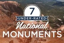 Under-Rated National Parks / Everybody loves Yosemite, Yellowstone, & the Grand Canyon, but don't forget that the National Park System also includes many less well-known destinations that are beautiful, historic, or culturally significant—or all of the above. Explore them all with the National Parks by Chimani app for iOS and Android - www.chimani.com