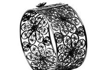 Collections - Black Lace / Black Filigree Edit. Our favourite Black filigree designs & trends. Made with 100% recycled sterling silver