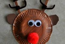 Christmas / Christmas Crafts, Food, Activities and Decoration Ideas