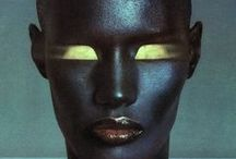 .:: Grace & My Inspiration ::. / Grace Jones has always represented 2 me - Freedom. An example of how 2 say fuck you 2 the restraints of societal bullshit. Just be YOU & do it amazingly while u r at it! / by Hinesman Zohajhae Dukes
