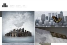 Design Showcase / Series of web design showcases that follow specific themes and colours.