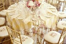 Wedding decoration / Bröllopsdekoration