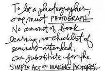 Photography Basics / getting better at the craft of Photography which I love.