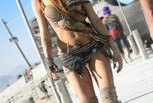 Burning Man )'(