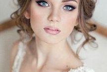 WEDDING HAIR AND MAKEUP / Bridal Hair & Makeup Ideas