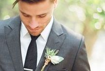 GROOM PORTRAITS + STYLE / Groom and Groomsmen Inspiration! It's not just all about the girls this time.