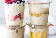 Oatmeal / My favorite way to start the day!  Here's a board full of oatmeal recipes!