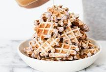 Pancakes & Waffles / Collection of pancake and waffle recipes, healthy to decadent. / by House of Yumm