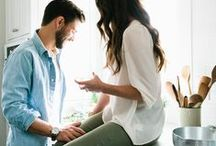 NEWLYWED LIFE / How to make your new place feel like a home! Marriage is not easy. Check out these tips for how to set yourself up for success!! Make sure to make time for each other every day.
