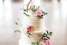 WEDDING CAKES AND DESSERTS / Wedding Cake Trends & Dessert Bar Inspiration