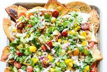 Mexican and Tex Mex Recipes / All Mexican recipes. Enchiladas, tacos, Tex Mex, nachos, taquitos, flautas, soups, margaritas, carnitas, Barbacoa, carne asada, brisket, burritos, sauces, salsas, churros, sopapilla, chiles, chile rellenos, tamales, chorizo, corn, tortillas, pico de gallo, beans and more!