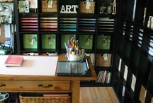 Creative Spaces / Items and ideals on how to create your own creative space!
