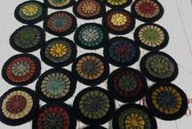 Penny mats ~ rugs ~ wool