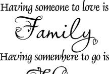 Family ~ Having someone to Love