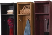 Wood Lockers , Mudroom , Entryway / Create your one of a kind locker unit or mudroom! These lockers are a fantastic way to organize any home! / by Sawdust City LLC
