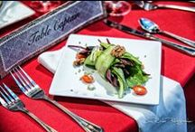 Delicious Food / The Association of Wedding Photographers is an organization of wedding professionals. It goes without saying that we serve fine meals at wonderful venues so that the association can experience the culinary experience of Dallas wedding venues.