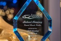 Awards / Each year the Association of Wedding Professionals award a trophy for excellence. The best wedding professionals create a wedding event that will always be in the memories of the family.