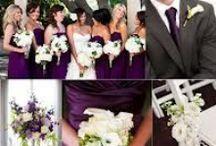 Eggplant, Plum Purple Weddings / Eggplant, Plum Purple Weddings, Favors, Accessory and Decoration Ideas