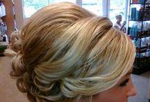 Bridal and Bridesmaid Hair Styles